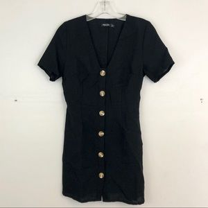 Nasty Gal Button Down Dress